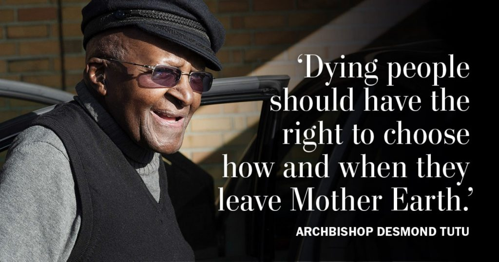 DesmondTutu by Rodger Bosch AFP Getty images