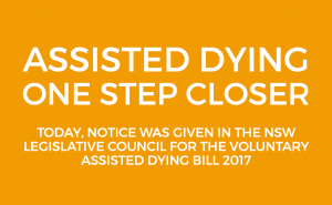 assisted dying one step closer