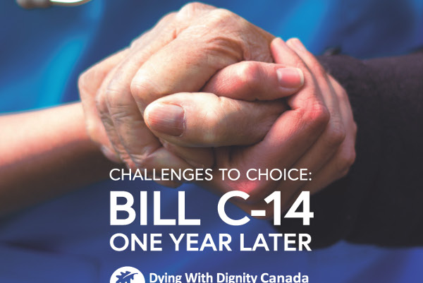front cover scaled v2 of Challenges to choice bill c14 one year on in Canada July 2017
